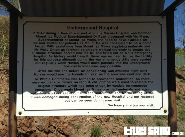 Underground Hospital History