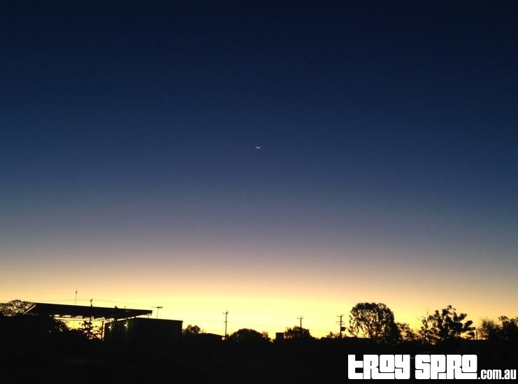Hughenden Sunset Outback Queensland