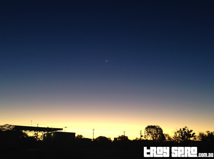 Hughenden Sunset