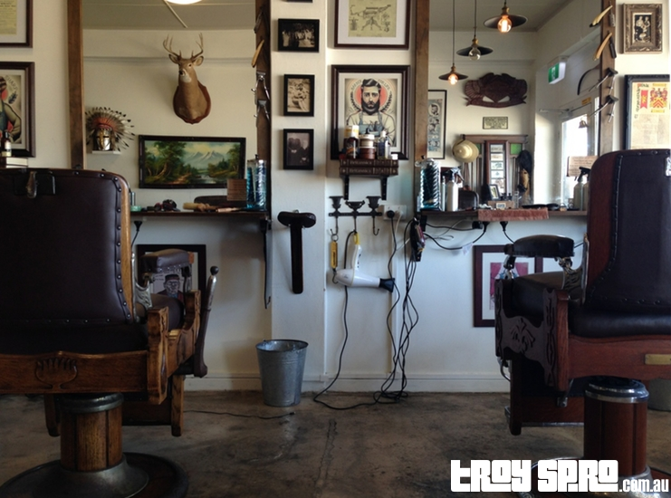 Gentleman Jones Barber Shop in Townsville