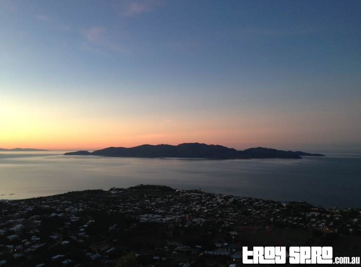 Castle Hill Lookout view of Magnetic Island