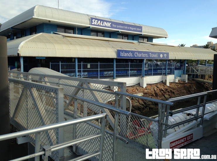 Sealink Terminal for Ferry to Magnetic Island