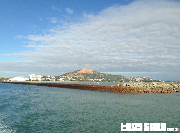 Views of Castle Hill from Sealink Ferry Magnetic Island Townsville
