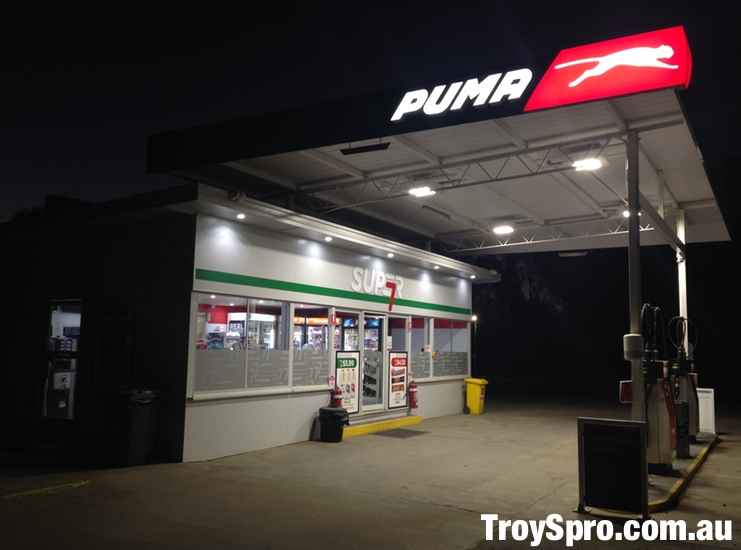Puma Petrol Station Marlborough