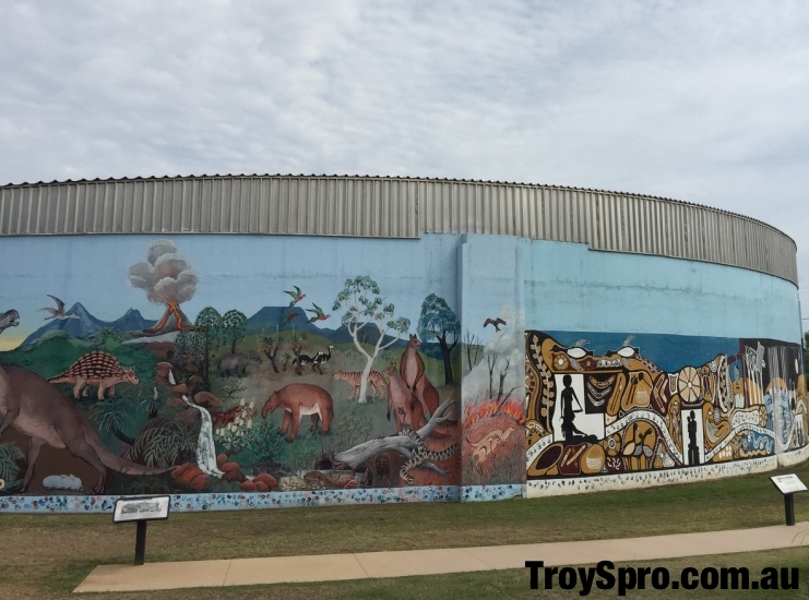 Spirit of the Land Mural Biloela