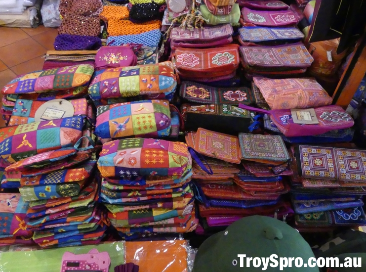 Handmade Purses Ben Thanh Markets Saigon Ho Chi Minh Vietnam