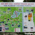 Cu Chi Tunnels Tour Map Ho Chi Minh City Saigon Vietnam
